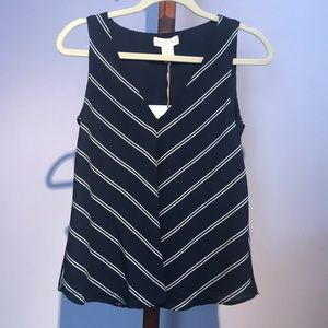 NWT Cynthia Rowley Striped Top